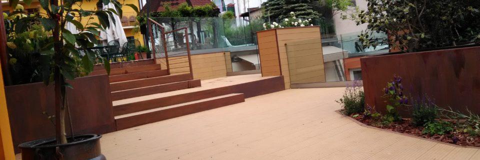 Installazioni di Pavimenti e Rivestimenti in WPC